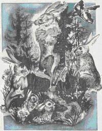 Сказка про храброго Зайца - длинные уши, косые глаза, короткий хвост - Алёнушкины сказки - Сказка Мамин-Сибиряк Д.Н. Рис. 2